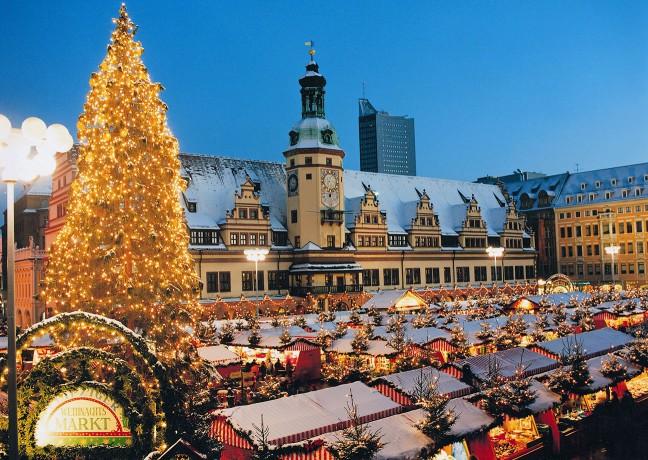 Weihnachten-Weihnachtsmarkt